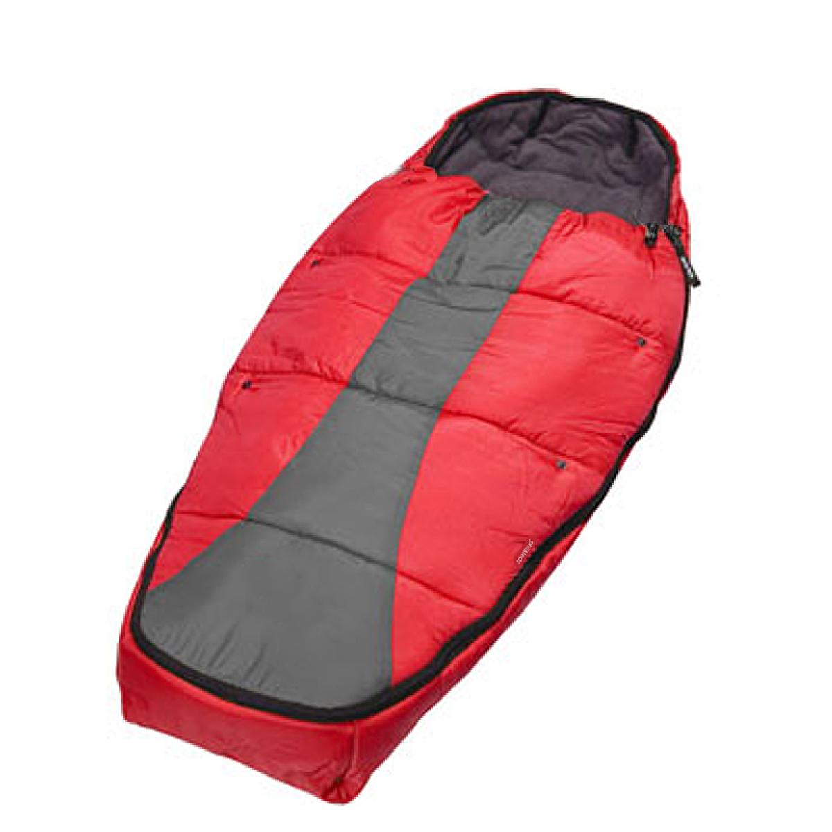 Sleeping bag RED-CHARCOAL-30