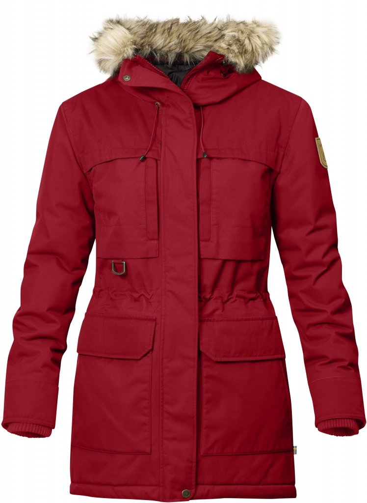 FjallRaven Polar Guide Parka W Deep Red-30