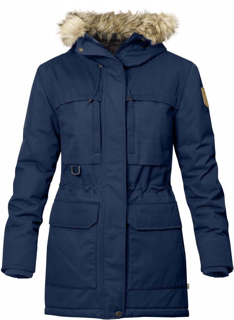 FjallRaven Polar Guide Parka W Blueberry-30