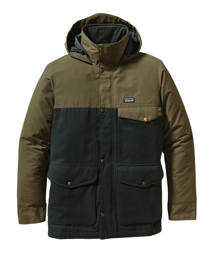 Patagonia - Hybrid Mountain Parka Smoked Green - Isolation & Winter Jackets - XXL