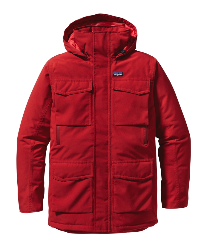 Patagonia - Thunder Cloud Down Parka Cochineal Red - Down Jackets -