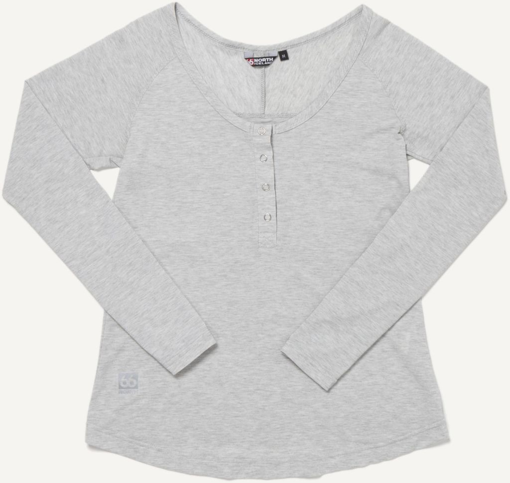 Unnur Women´s Long Sleeve Light Grey-30
