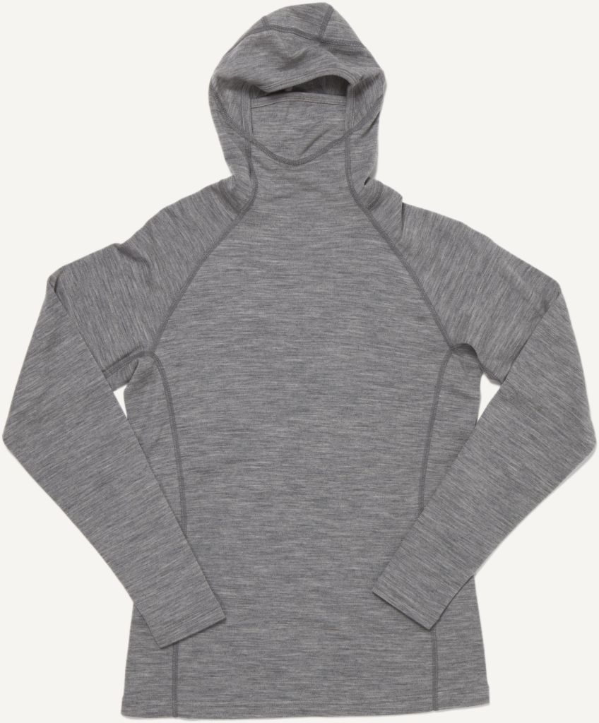 Basar Women´s Hooded Heather Grey-30