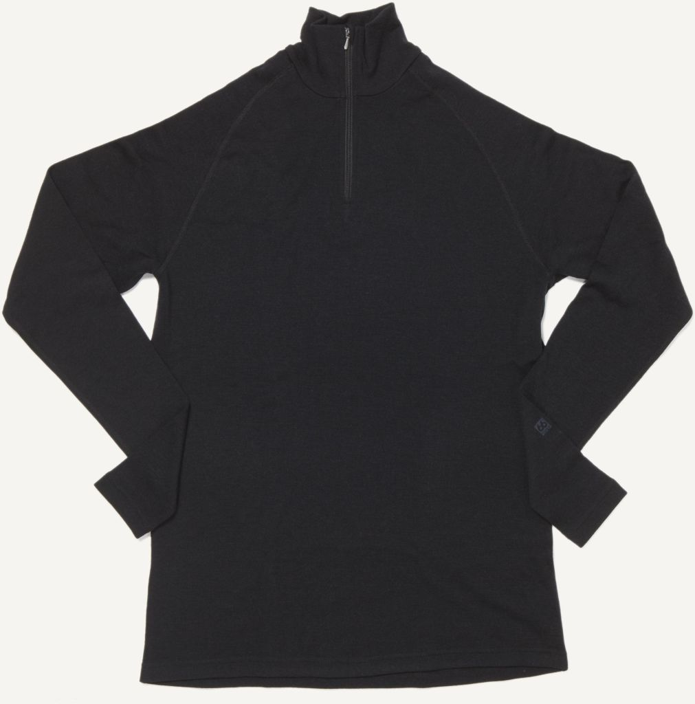 Basar Women´s Zip Neck Black-30