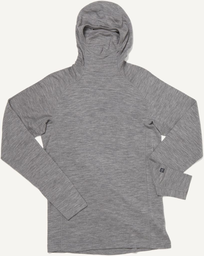 Basar Hooded Heather Grey-30