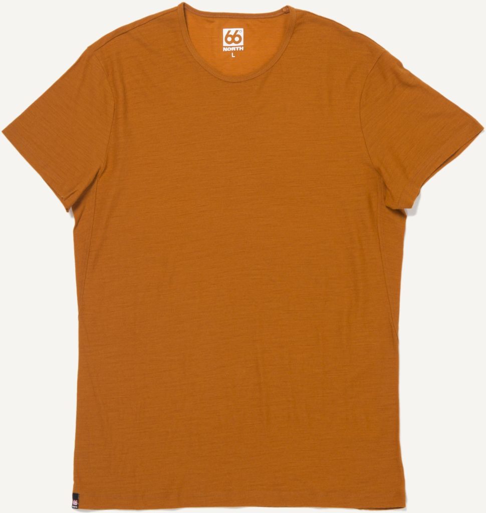 Skogar T-shirt Burnt Orange-30