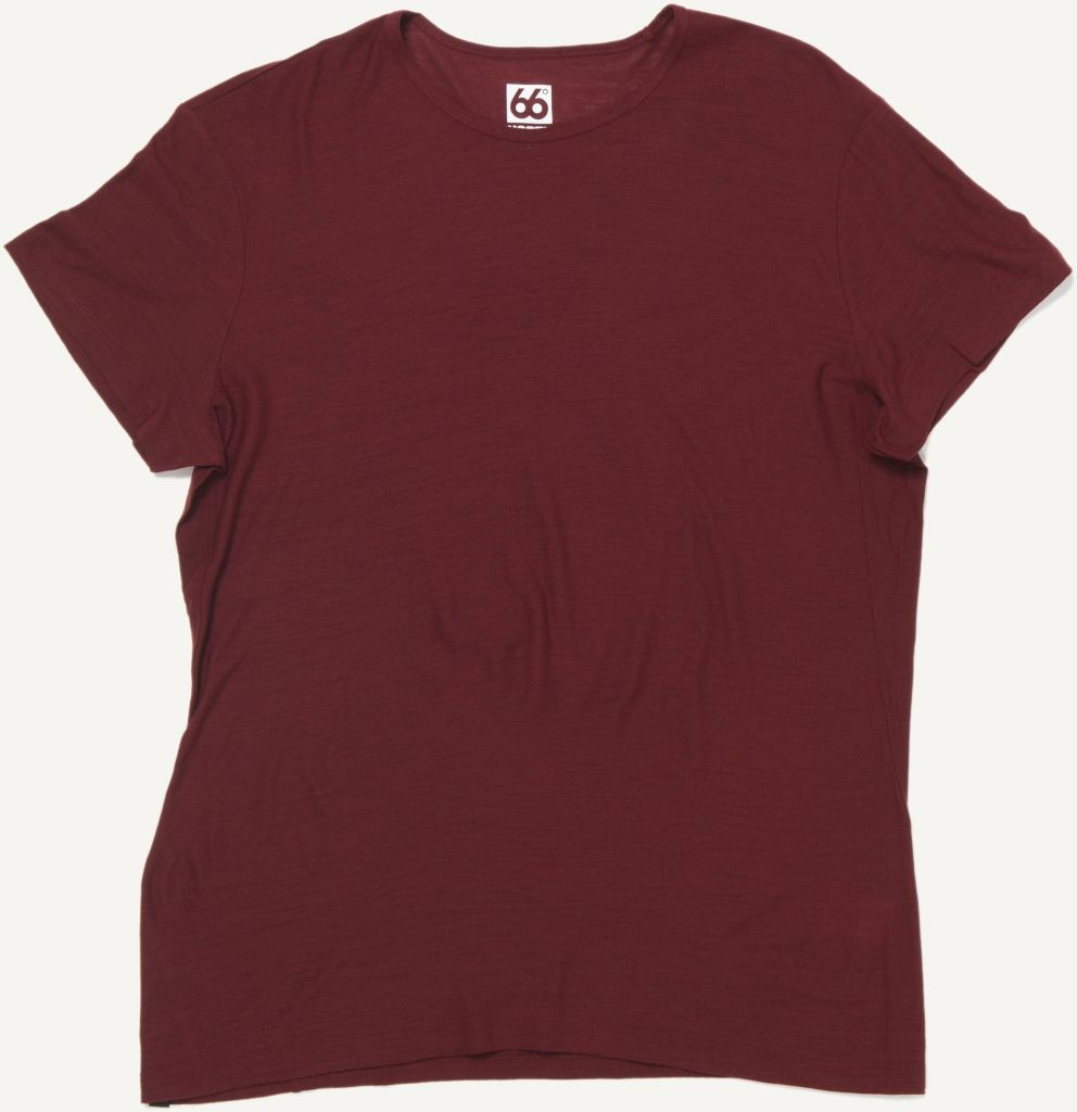 Skogar T-shirt Burgundy-30