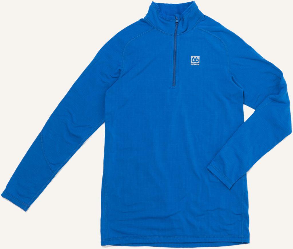 Grettir Women´s Zip Neck Sky Blue-30
