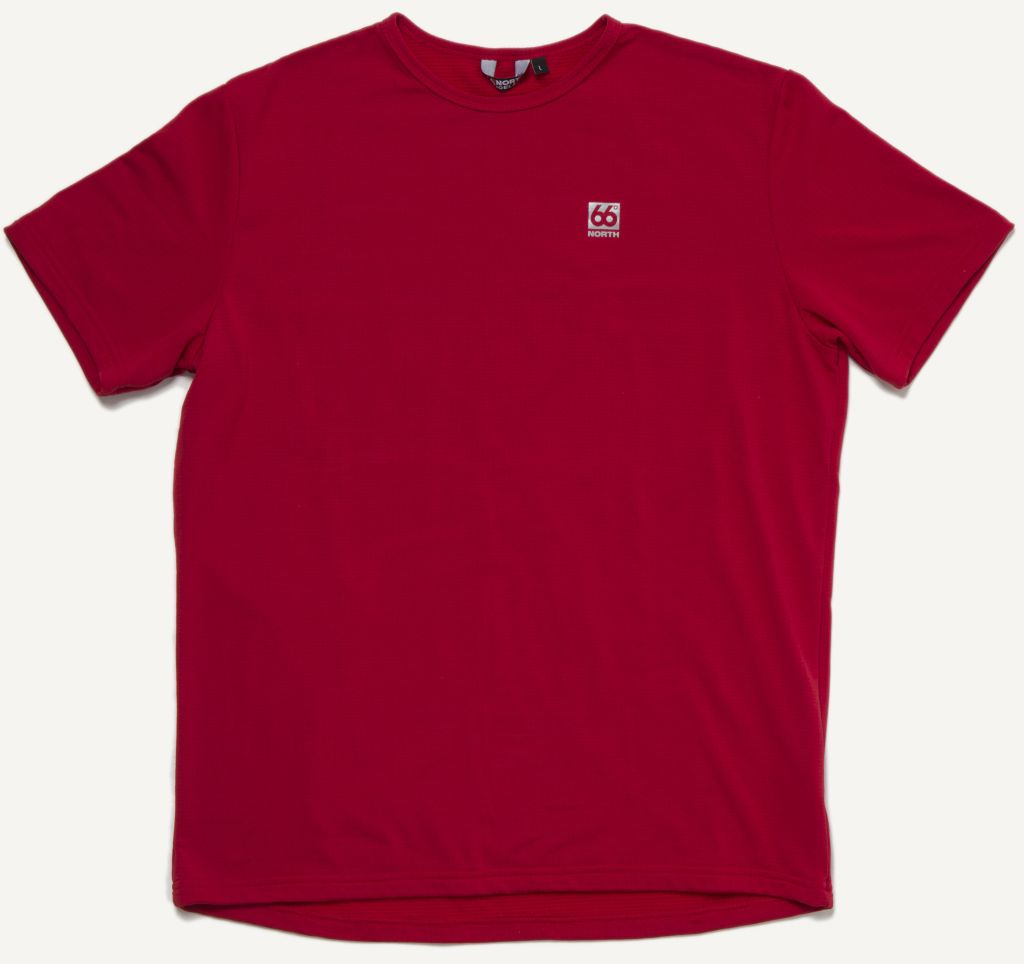Grettir T-shirt True Red-30