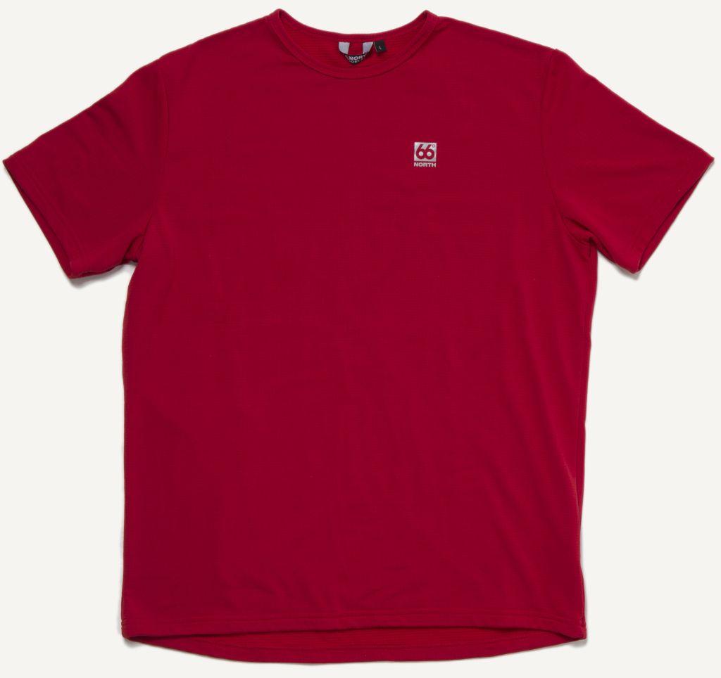 Grettir T-shirt True Red-30