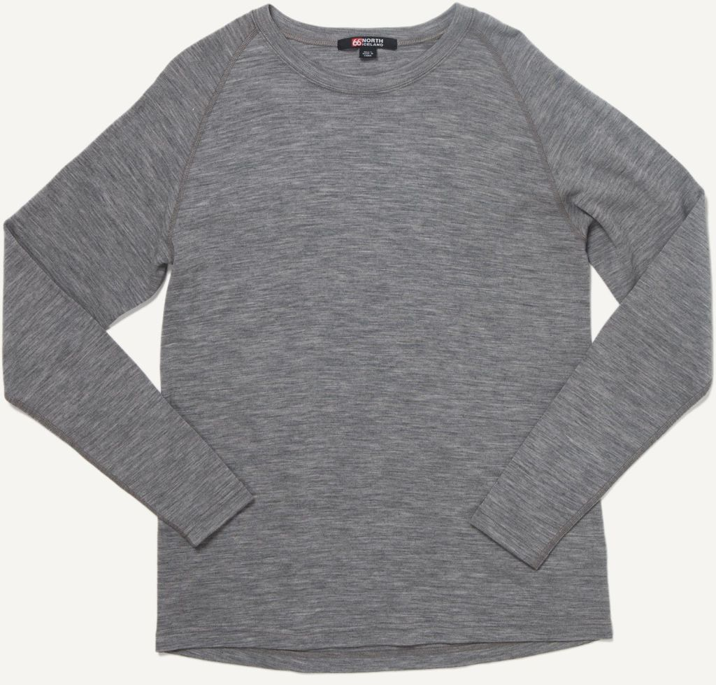 Basar Crew Neck Heather Grey-30