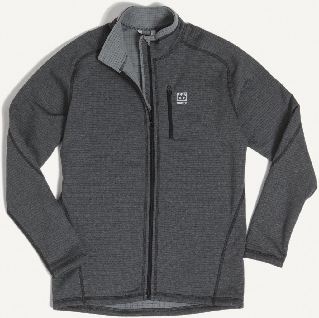 Grettir Zipped Jacket Lavic Grey-30