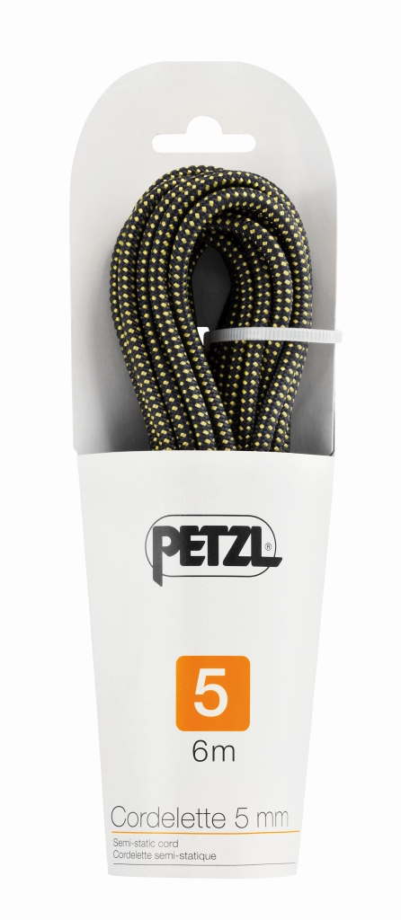Petzl Cordelette 6 Meter Yellow/Black-30