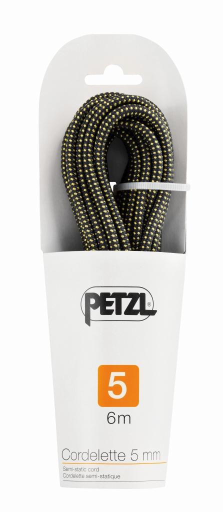 Petzl - Cordelette - 6 Meter Yellow/Black - Climbing Ropes -