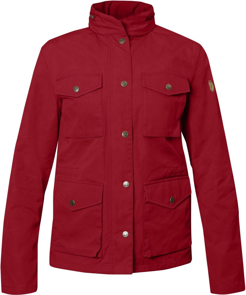 FjallRaven Räven Jacket W Deep Red-30