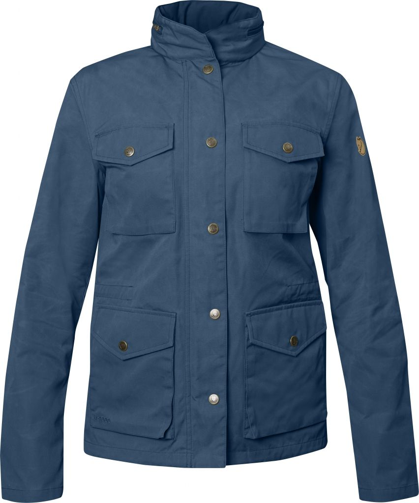 FjallRaven Räven Jacket W Uncle Blue-30