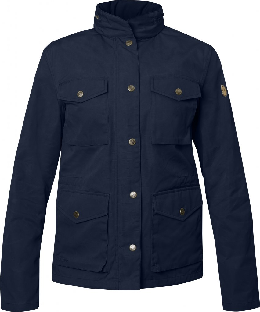 FjallRaven Räven Jacket W Dark Navy-30