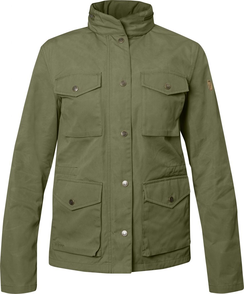 FjallRaven Räven Jacket W Green-30