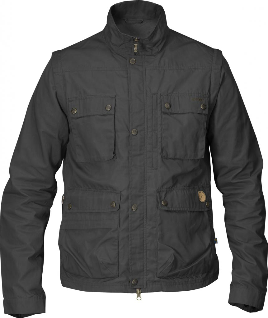 FjallRaven Reporter Lite Jacket Dark Grey-30