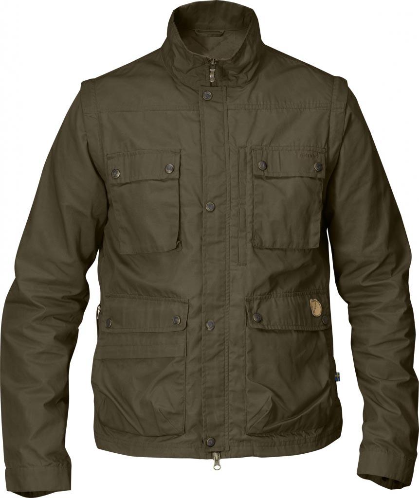 FjallRaven Reporter Lite Jacket Dark Olive-30