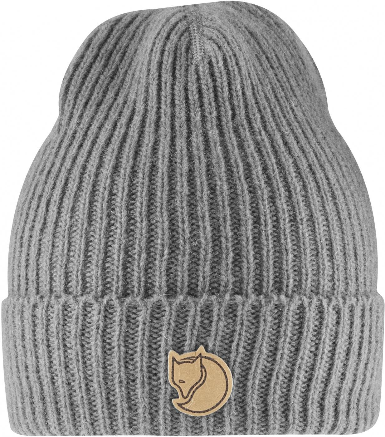 FjallRaven Rib Beanie Grey-30