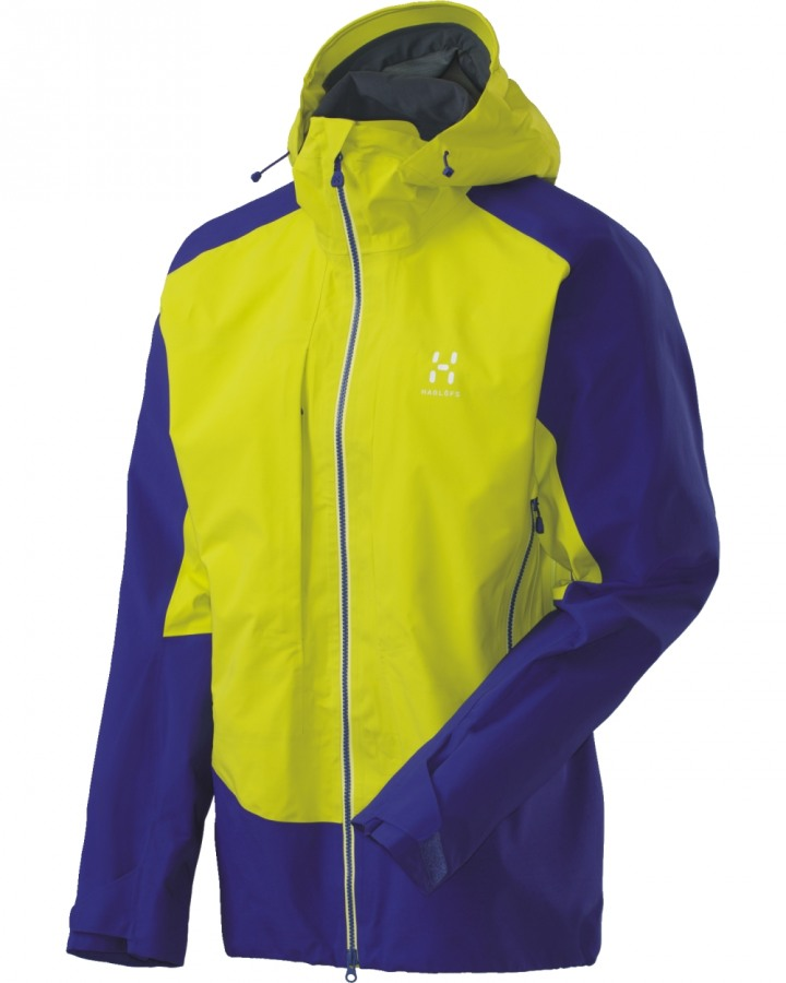 Haglofs Roc Hard Jacket Noble Blue/Firefly-30