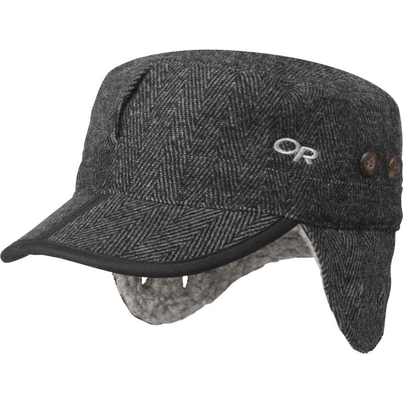 Outdoor Research Yukon Cap Charcoal Herringbone-30