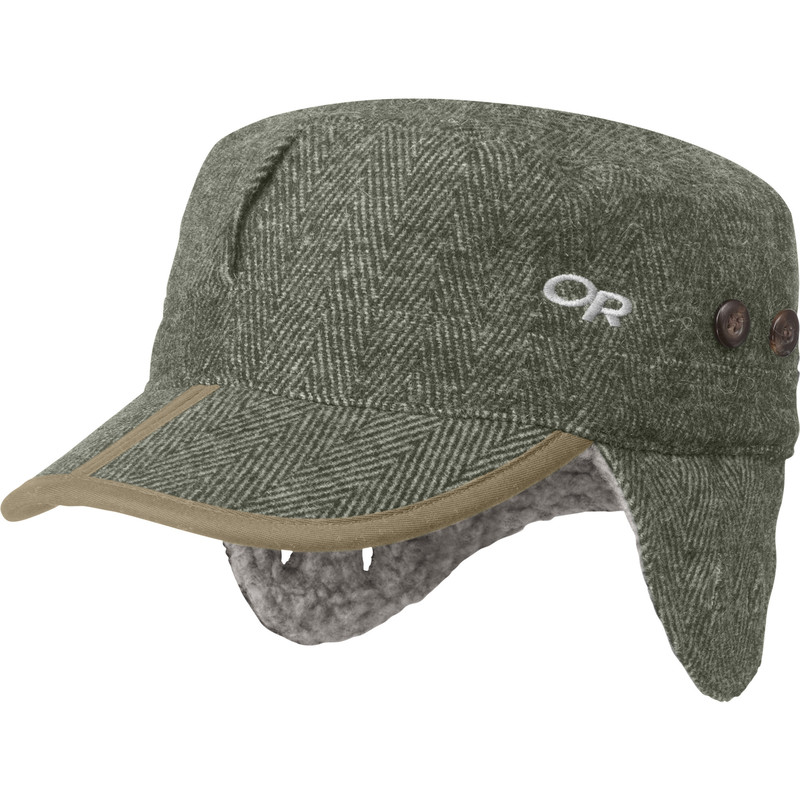 Outdoor Research Yukon Cap Peat Herringbone-30