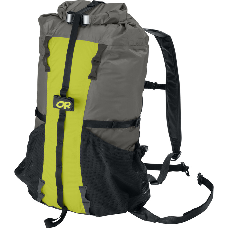 Outdoor Research Drycomp Summit Sack Pewter/Lemongrass-30