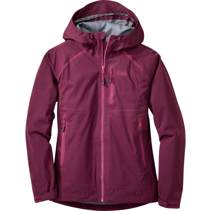 Outdoor Research Women´s Clairvoyant Jacket Sangria-30