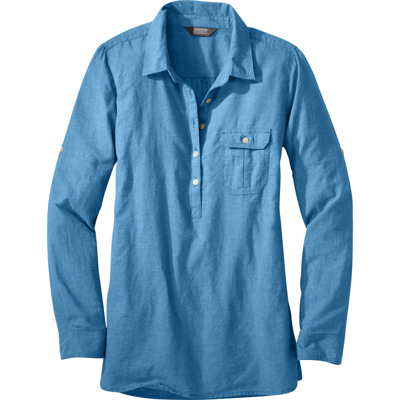 Outdoor Research Women´s Coralie L/S Shirt M Cornflower-30