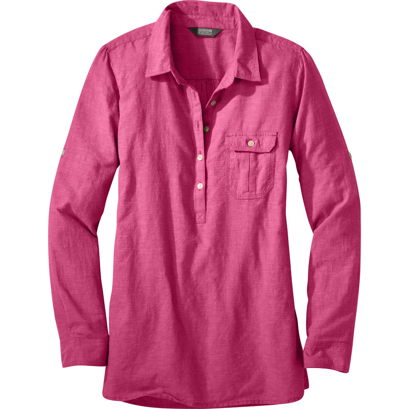 Outdoor Research Women´s Coralie L/S Shirt Sangria-30