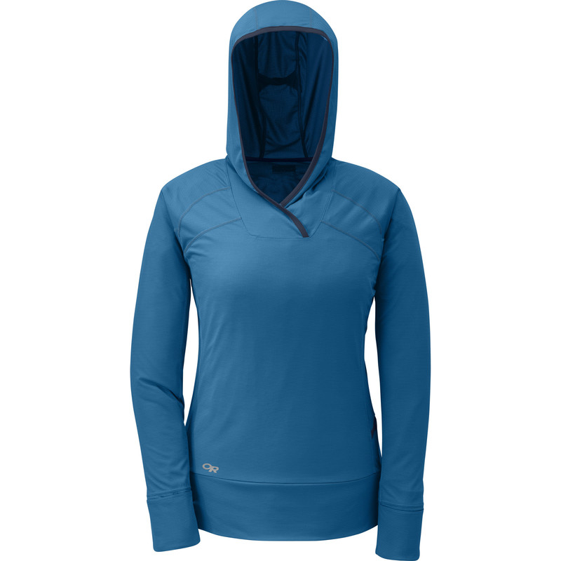Outdoor Research Women´s Echo Hoody Cornflower/Night-30