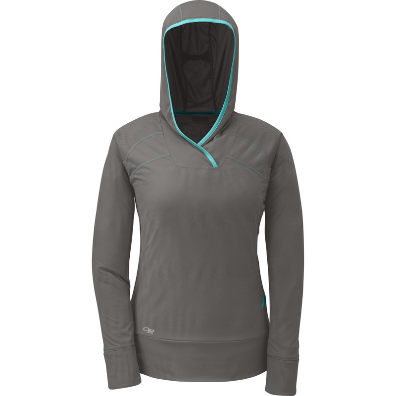 Outdoor Research Women´s Echo Hoody Pewter-30