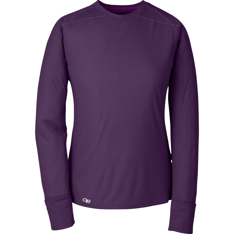 Outdoor Research Women´s Echo L/S Tee Elderberry/Ultraviolet-30