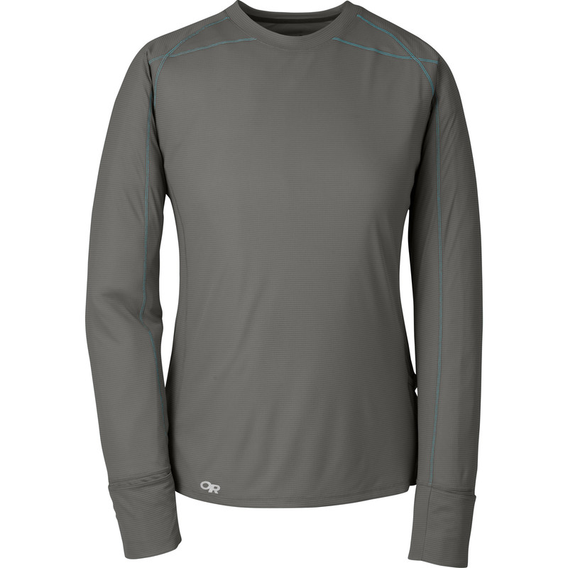 Outdoor Research Women´s Echo L/S Tee Pewter-30