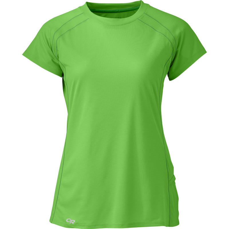 Outdoor Research Women´s Echo S/S Tee Apple/Laurel-30