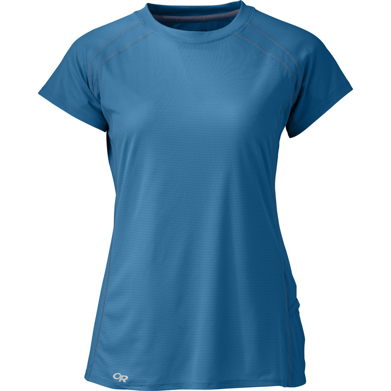 Outdoor Research Women´s Echo S/S Tee Cornflower/Night-30