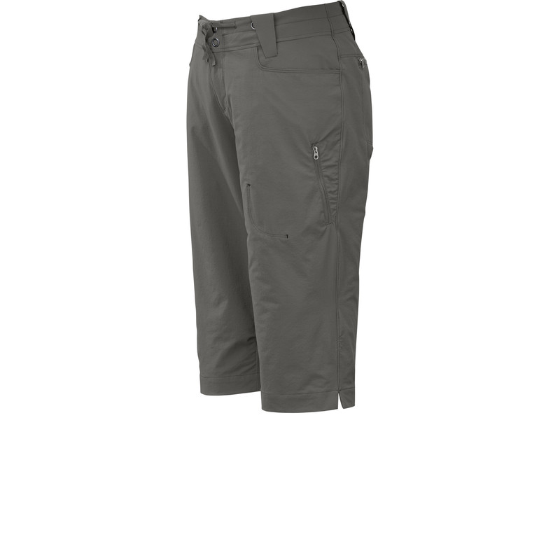 Outdoor Research - Women´s Ferrosi Capris Pewter - Shorts - 4