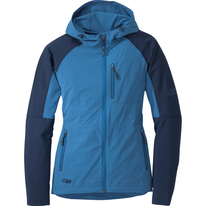 Outdoor Research Women´s Ferrosi Hoody Cornflower/Night-30