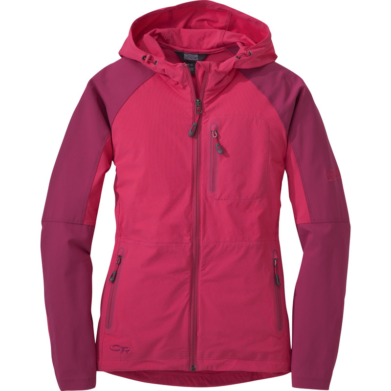 Outdoor Research Women´s Ferrosi Hoody Desert Sunrise/Sangria-30
