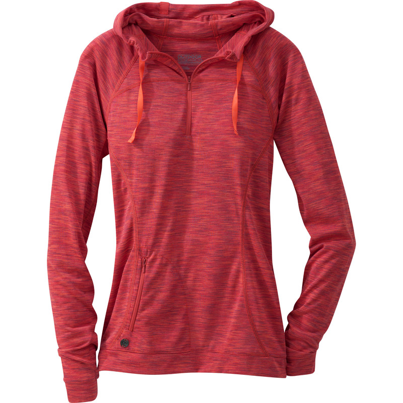 Outdoor Research Women´s Flyway Zip Hoody Adobe/Bahama-30