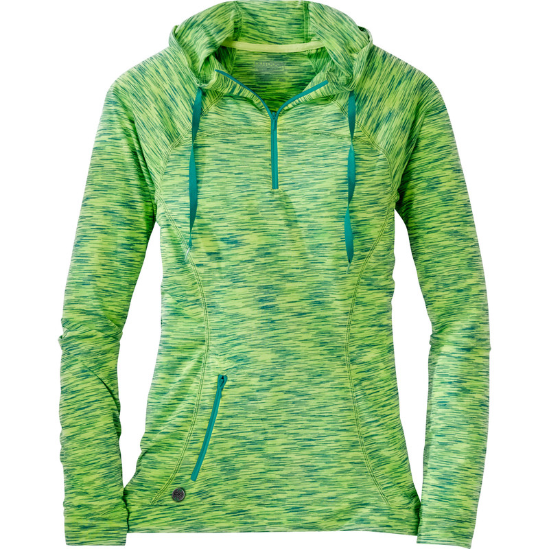 Outdoor Research Women´s Flyway Zip Hoody Apple/Laurel-30