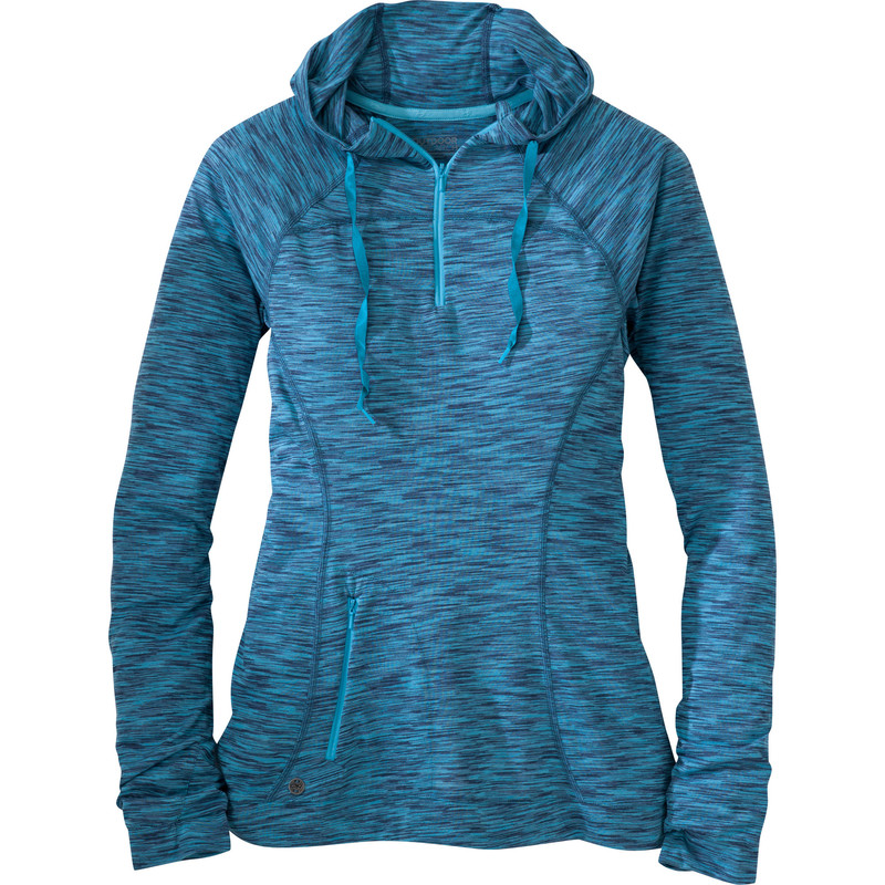 Outdoor Research Women´s Flyway Zip Hoody Cornflower/Rio-30