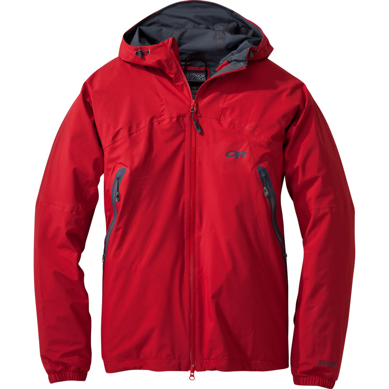 Outdoor Research Men´s Allout Hooded Jacket Hot Sauce-30