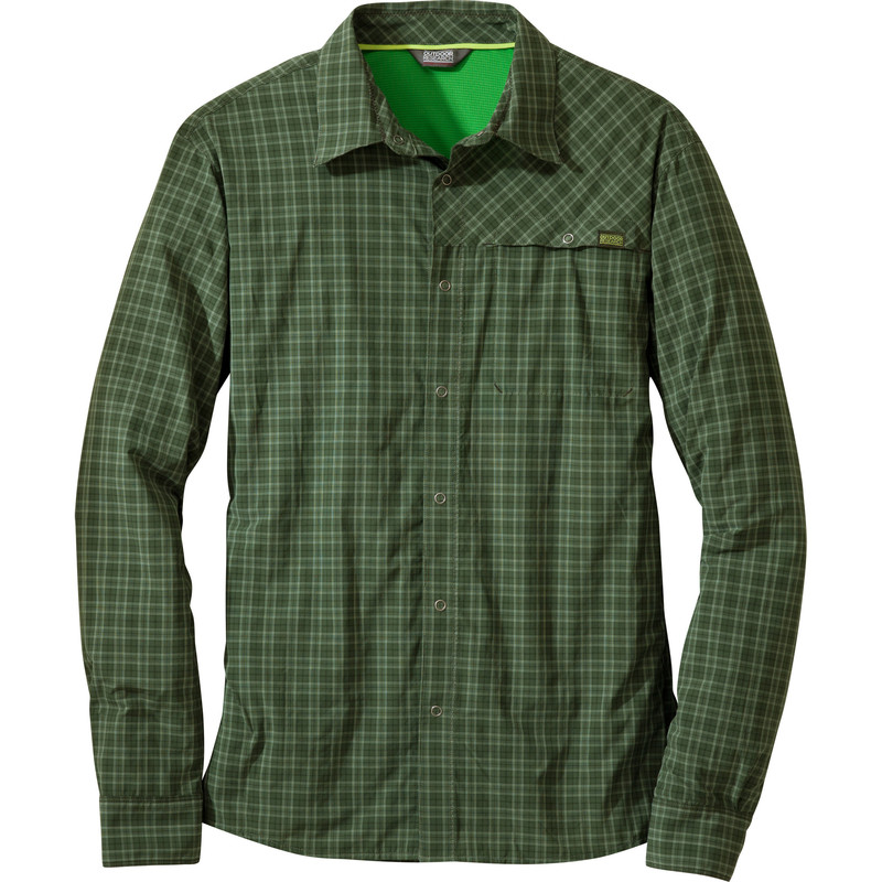 Outdoor Research - Men´s Astroman L/S Shirt Evergreen - Shirts - XL