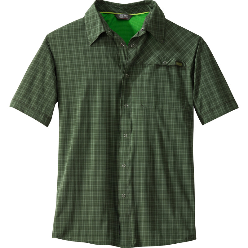 Outdoor Research - Men´s Astroman S/S Shirt Evergreen - Shirts -