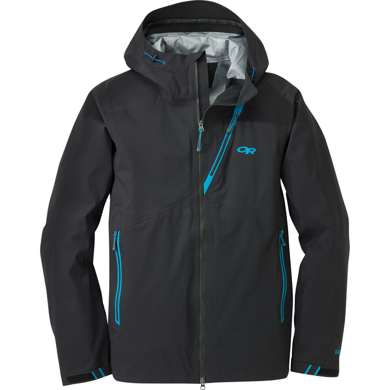 Outdoor Research Men´s Axiom Jacket Black/Hydro-30