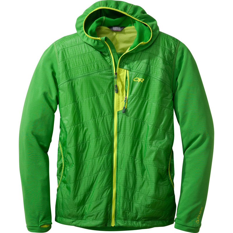 Outdoor Research Men´s Deviator Hoody Flash/Lemongrass-30