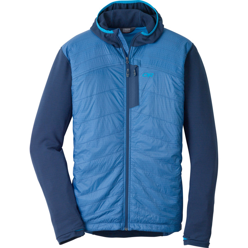 Outdoor Research Men´s Deviator Hoody Night/Hydro-30